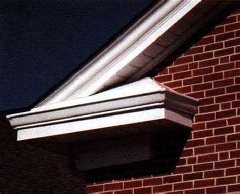 Exterior Crown Molding Atas Product Release Featuring Exterior Metal Crown Mouldings