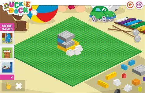 house builder game building blocks toy bricks at duckie deck