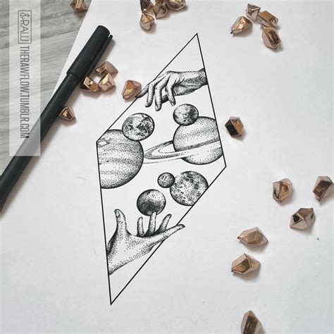 astronomy tattoo designs space galaxy astronomy dotwork design mid 2016