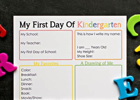 kindergarten activities for the first day of school first day of kindergarten interview somewhat simple