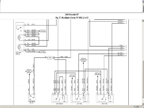 peterbilt 379 wiring diagram 2000 peterbilt 379 headlight