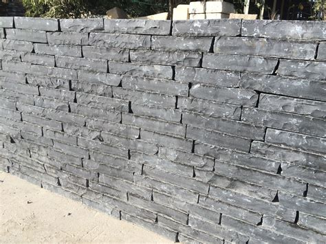 Black Limestone Walling Stone   Prices Paving