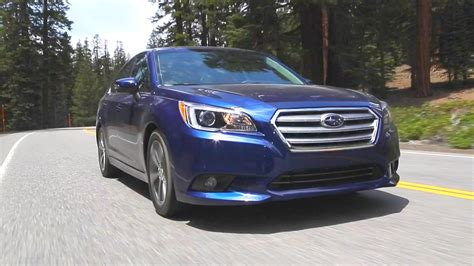 subaru legacy 2016 blue 2016 subaru legacy review and road test youtube