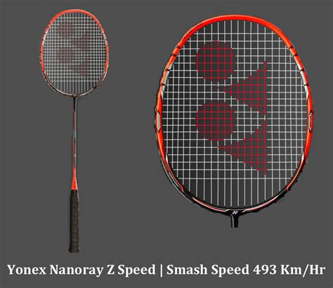 Raket Nanoray Z Speed world fastest smash with badminton racket yonex nanoray z