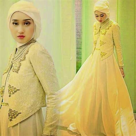 gambar atasan brokat muslim 12 gambar model baju muslim brokat terpopuler 2017