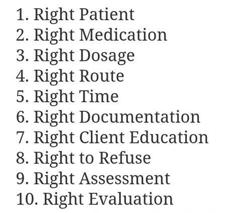 safe medication administration for nurses 10 rights of medication administration for nurses and