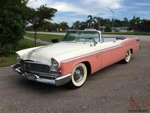 1956 Chrysler Convertible 1956 Chrysler New Yorker Base 5 8l Convertible