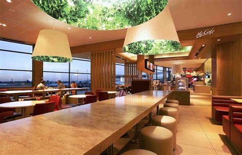 mcdonald designer interior design mcdonald s sydney airport airside