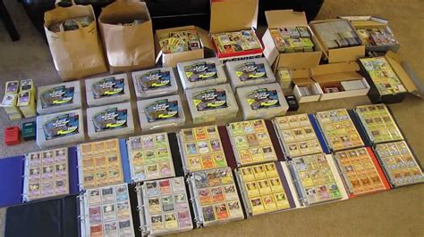 Gift Card Collection - my pokemon card collection 50 000 cards youtube