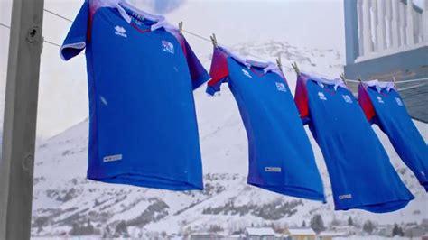 Islande Coupe Du Monde Errea D 233 Voile Les Maillots De L Islande Pour La Coupe Du