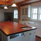 summer lake house rustic kitchen burlington