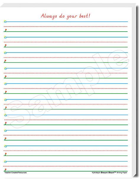 smart start writing paper smart start 1 2 writing paper 100 sheets tcr76531