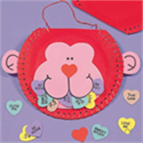 monkey paper plate craft s day crafts paper plate