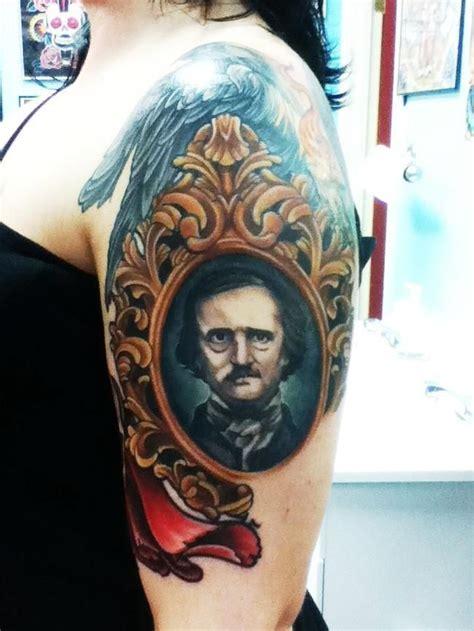 poe tattoo edgar allan poe tattoos ink