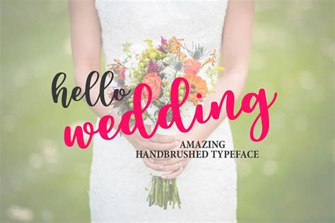Wedding Font For Photoshop Free by Free Font Hello Wedding 187 Fonts 187 Photoshop Freebie