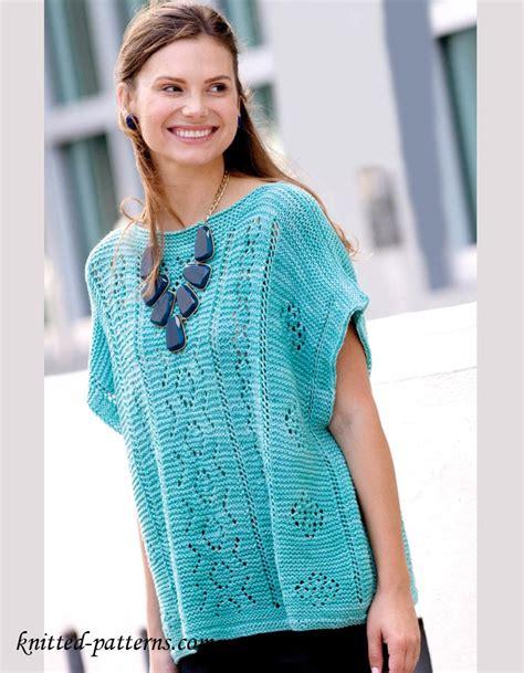 summer knitting ideas summer pullover knitting pattern free