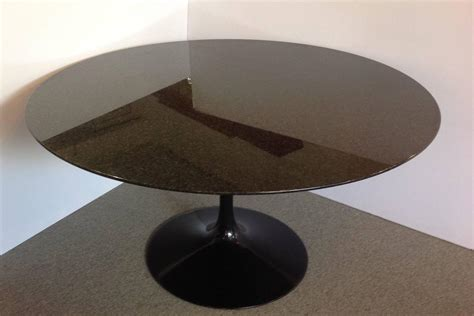 round granite dining table saarinen granite top pedestal dining table 54 quot round for