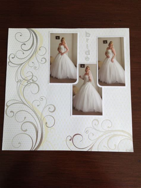 photo layout for wedding 1000 ideas about wedding scrapbook layouts on pinterest