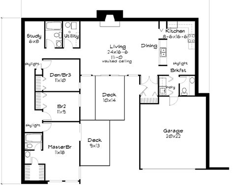 berm home plans attractive berm house plan 35458gh