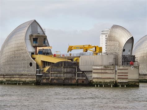 Thames Defence Barrier | archive thames barrier high wall defence from wwz
