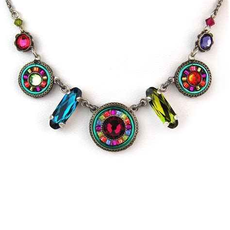 multi color la dolce vita mix necklace 8506 firefly jewelry