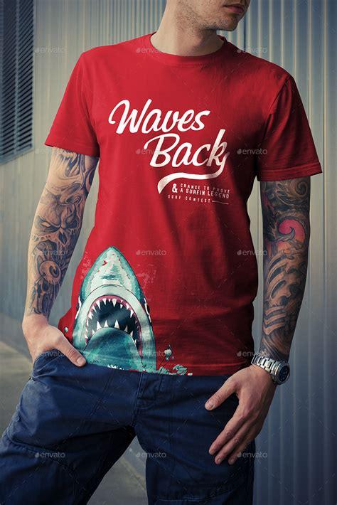 shirt mock  street edition  genetic graphicriver