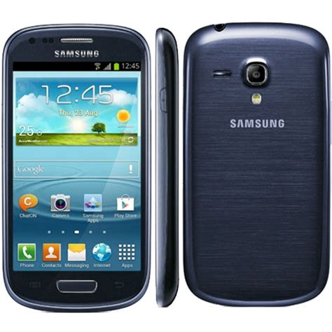 samsung galaxy s3 mini with nfc blue smartphone mobile
