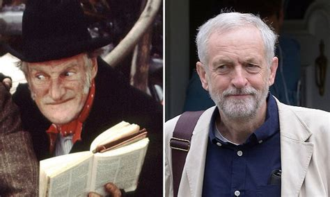 jeremy corbyn   touch   man steptoe