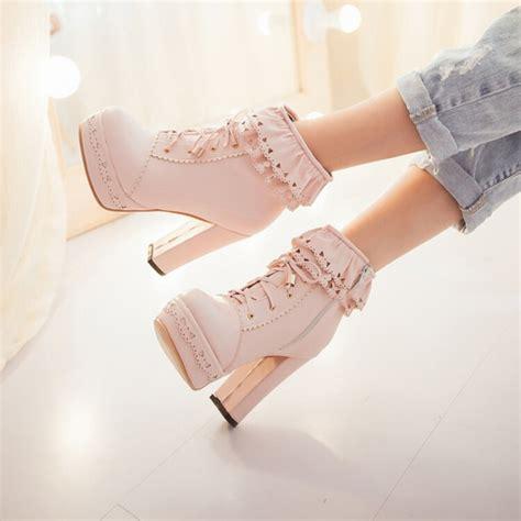 Sweet Heels japanese sweet boots 183 asian kawaii