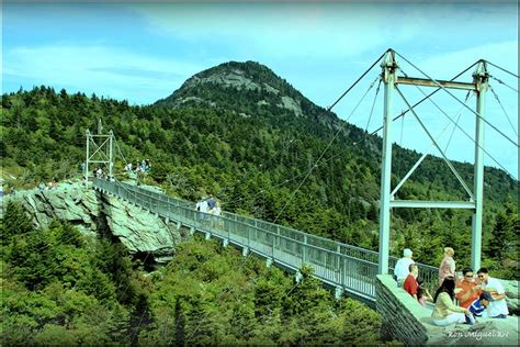grandfather mountain mile high swinging bridge pin by laurajeanne on scenery pinterest