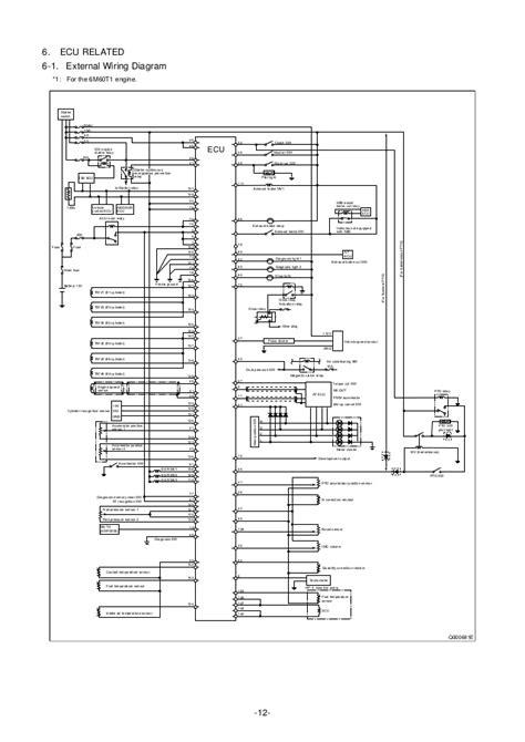 mitsubishi fuso wiring diagram efcaviation
