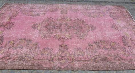 shabby chic rugs ashwell pretty shabby chic pink overdyed area rug 10 x 6 shabby chic pink shabby and shabby chic