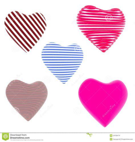 corazones rayados imagenes de archivo imagen 31017594 porci 243 n de rojo corazones rayados azules imagenes de