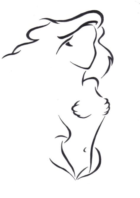 little mermaid silhouette tattoo mermaid silhouette outline sketch coloring page