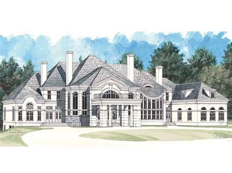 eplans chateau house plan grand manor 8126 square feet 353 best house garage plans images on pinterest dream