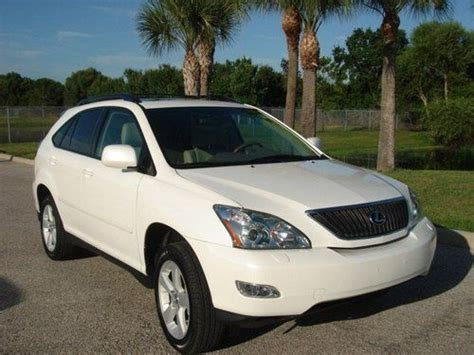 Lexus Rx330 Gas Mileage by Purchase Used 2006 Lexus Rx 330 Awd In Sarasota Florida