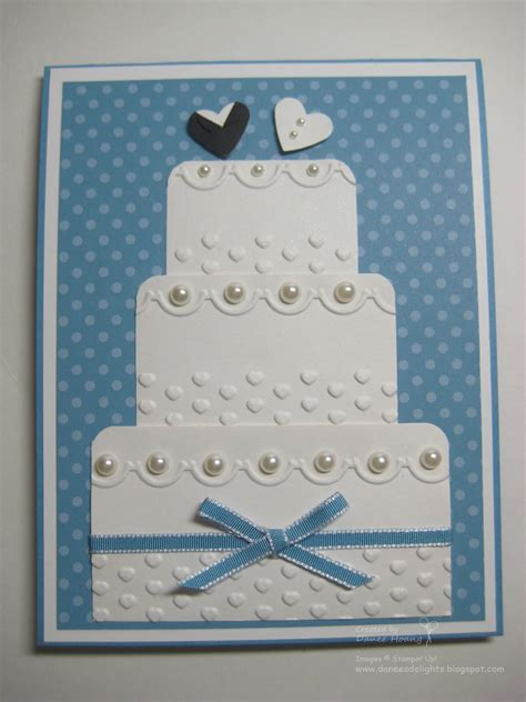 how to make wedding card danee s stin delights wedding cake card