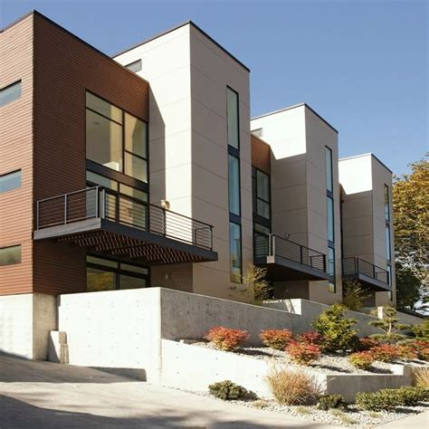 contemporary townhouse ultra modern townhouse in seattle 335k home aspiration