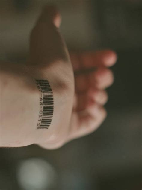 barcode tattoo on wrist wrist tattoos for inspirations and ideas for guys