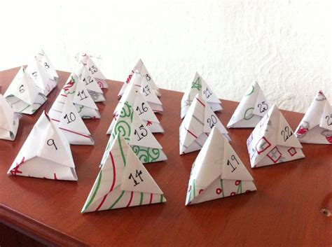 Origami Advent Calendar - 17 best images about advents on felt