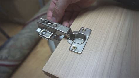 How to install Concealed Cabinet Hinges (35mm Hole