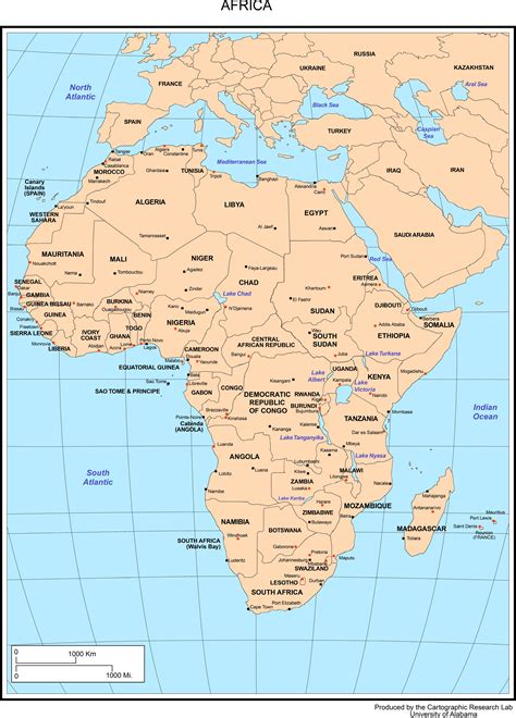 Outline Map Of South Africa With Major Cities by Maps Of Africa