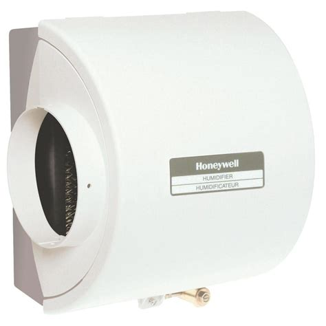 honeywell flow through bypass whole house humidifier he220a1019 the home depot