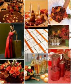 wedding fall colors power to personalize your wedding fall wedding inspiration