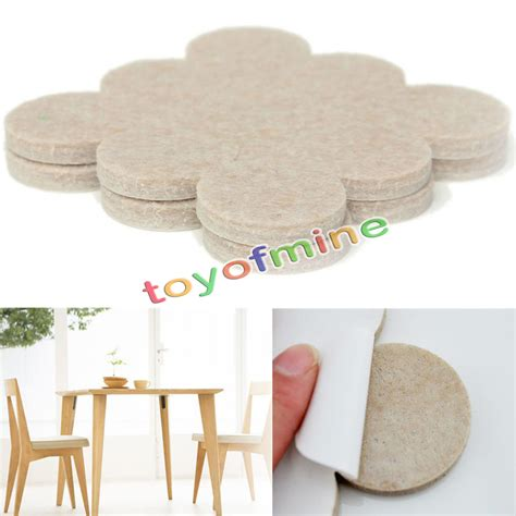 wall chair protector 18pcs self adhesive floor furniture wall chair scratch protector felt round pads ebay