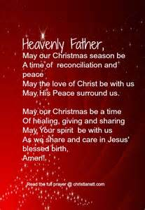 prayer the true spirit of christmas