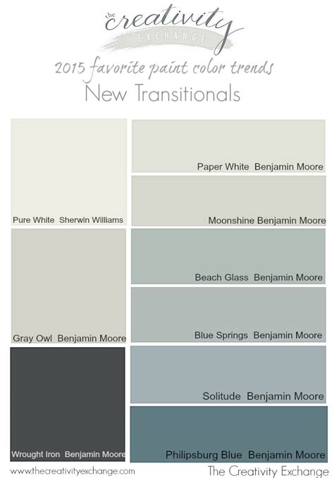 popular behr paint colors 2015 2015 favorite paint color trends the new transitionals