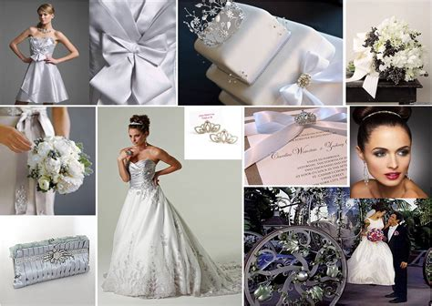 wedding colour themes silver tbdress blog silverline your wedding day with silver