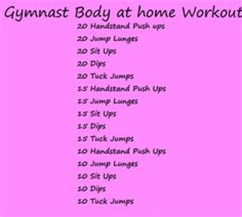 1000 ideas about gymnastics workout on
