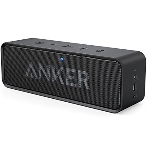 Anker Soundcore Mini Speaker Bluetooth Portable Silver A3101ha1 bose 174 soundlink 174 mini bluetooth speaker silver discontinued by manufacturer co uk